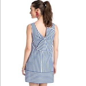Vineyard Vines NWT Beachcomber stripe bow back DS